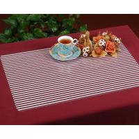 Buy cheap VINYL CLEAR STRIPED PLACEMAT FY-020 from wholesalers