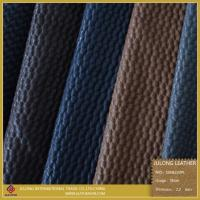 Wholesale PU Artificial Net Design Shoes Leather from china suppliers