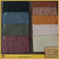 Wholesale Colorful Fabric Leather Fabric Synthetic Leather for Shoe or Sofa from china suppliers