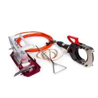 Buy cheap Insulated hydraulic cutting tool with hand & foot pump HICT-132-35KV from wholesalers