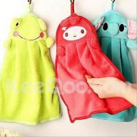 Buy cheap Textile Cartoon Animal Hanging Water Absorption Bathing/Kitchen Towel (Random Color) from wholesalers