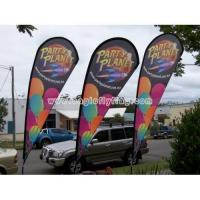 Buy cheap Cheap Flying Outdoor Advertising Teardrop Banner from wholesalers