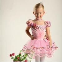Buy cheap Costume Collection Product name:Dance Puff Sleeve Velvet Ballet Tutu Dress C31 from wholesalers
