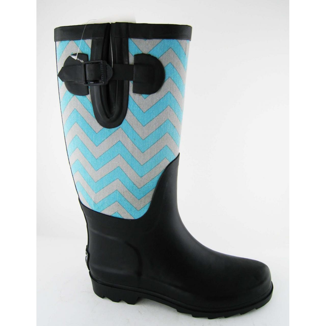 Buy cheap Fashion Blue Women Neoprene Boots from wholesalers