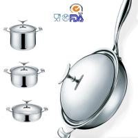 Buy cheap 18/10 stainless steel cookware Pots and Pans from wholesalers