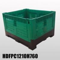 Buy cheap New designed Collapsible Plastic Pallet Box 1200*1000*760mm from wholesalers