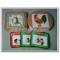 Wholesale Decorated ware CT522CorkCoasters from china suppliers