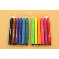 Buy cheap Modeling Clay W107 12 colors EU standard triangle shape felt tip kisds drawing water color pen from wholesalers