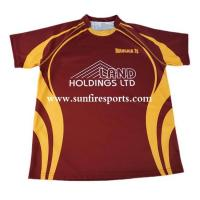 Buy cheap best selling new design custom sublimation rugby polo shirt from wholesalers
