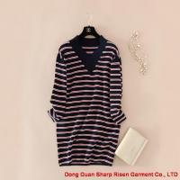 Buy cheap Long striped pullovers 1706307 from wholesalers