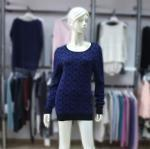 Buy cheap Cashmere Sweater Ladies' Scoop Neck Pattern Pullover 1703106 from wholesalers