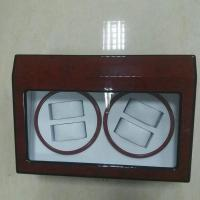 Buy cheap Motor piano painting Rotating Wood automatic watch box, watch winder box from wholesalers
