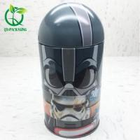 Buy cheap Tin Box New style packaging box for spiderman toy from wholesalers
