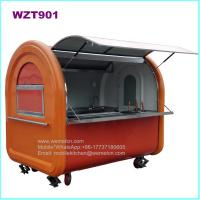 Buy cheap WZT901 Mobile Food Cart, Cffee Cart, Breakfast Cart, Ice Cream Cart from wholesalers