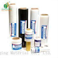 Buy cheap Shenzhen bull LLDPE Material 23 micron strech film for pallet shrink wrap film from wholesalers