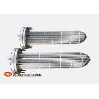 Wholesale Flooded Shell And Tube Evaporator Corrosion Resistant Titanium Tube Material from china suppliers
