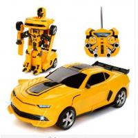 Buy cheap Transformers Autobots Electric RC Car with One Button To Deformation Remote Control Option from wholesalers