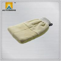 Buy cheap Car Wash Mitt Genuine Sheepskin Wash Mitt from wholesalers