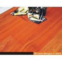 Buy cheap Engineered Santos Mahogany Flooring Wood Flooring from wholesalers