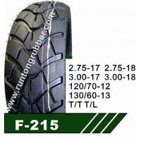 Wholesale MOTORCYCLE TIRE F-215 from china suppliers