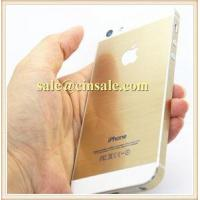 5s Gold Color Full Body Stickers Button for Iphone 5 4 with Retail Box Fast Ship