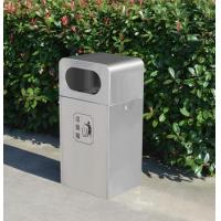 Buy cheap Litter bins Street stainless steel garbage bin from wholesalers