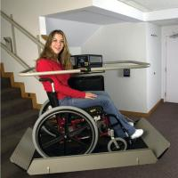 Buy cheap Wheelchair Lifts Artira Curved Stairs Inclined Wheelchair Lift from wholesalers