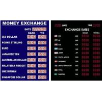 Wholesale Currency Exchange Rate Display --- from china suppliers
