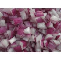 Buy cheap Frozen Red Onion Diced from wholesalers