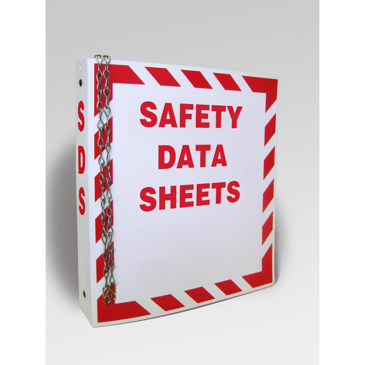 Wholesale material safety data sheet file fold,MSDS ring binder folder from china suppliers