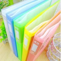 Wholesale plastic display book,a4 display book from china suppliers