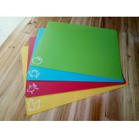 Buy cheap 4* Flexible Colour Coded Chopping Mats Slicing Cutting Boards Plastic Kitchen product