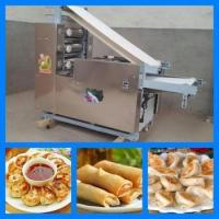 Buy cheap Large Capacity Dumpling Skin Making Machine / Roster Duck Wrapper / spring rolls skin maker from wholesalers