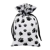 """Wholesale Paw Print Animal Pouch (5"""" x 7""""), 12 pouches ANP-3-PAW from china suppliers"""