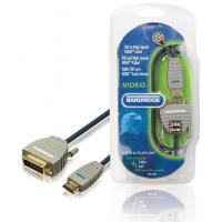Wholesale Bandridge HDMI - DVI-D 24+1 Pin Male 3m Blue from china suppliers