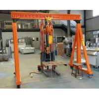 Buy cheap Small Portable Gantry Crane from wholesalers