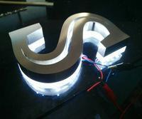 Buy cheap Factory 3D stainless steel LED alphabet letter door sign customized from wholesalers