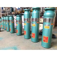 Water filled submersible pump