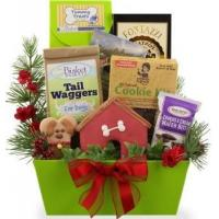 Buy cheap Christmas Goodies for Dog and Owner Gift Basket from wholesalers