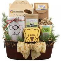 Buy cheap Holiday Sophisticated Dog Gift Basket from wholesalers