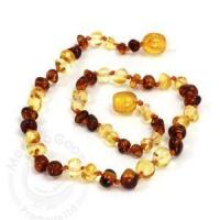 Buy cheap Baltic Amber Teething Necklace - Lemon Cognac from wholesalers