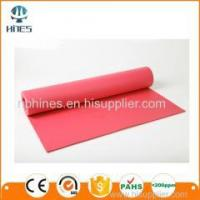 Buy cheap Indoor Fitness Equipment PVC Yoga Mat/Best exercise accessories eco friendly pvc yoga mat for gym from wholesalers