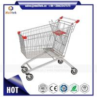 Buy cheap Wanzl Style Supermarket Shopping Trolley Cart for Retail Grocery Store from wholesalers