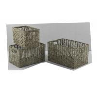 Wholesale set of 3 seagrass basket from china suppliers