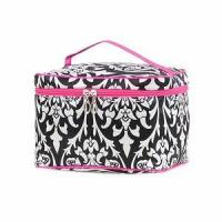 Wholesale Monogrammed Damask Print Cosmetic Case from china suppliers
