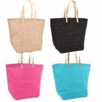 Buy cheap Monogrammed Large Jute Totes - Choose Color - Personalized Free from wholesalers