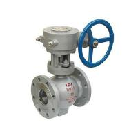 Buy cheap Eccentric Half Ball Valve API6D Wholesale high quality carbon steel side mounted from wholesalers