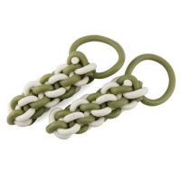 Wholesale 2-color Chinese Knot(milk+green tea) B017 from china suppliers