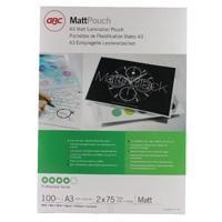 Buy cheap GBC A3 Matt Laminating Pouch 150 Micron (100 Pack) 41660E from wholesalers