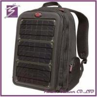 Buy cheap Solar charger backpack for laptop charger from wholesalers